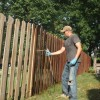 Fence Staining Made Easy