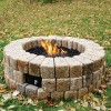 Build A Gas Fire Pit In 10 Steps