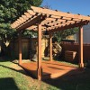 Design and Build a Wood Deck for a Pergola Base