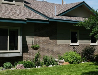 Creating Faux Brick on Home Exterior