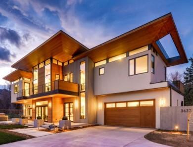 Amazing near-Net Zero Energy, LEED Platinum, Modern Custom Home