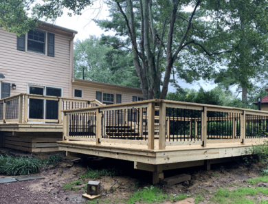 Summertime Deck Building Project