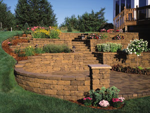 block by block segmental retaining walls