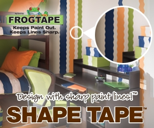 57964 Shape Tape 300x250 Banner Ad Paint a Countertop to Look Like Granite