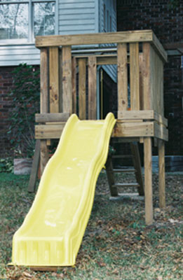 Build A Playground Slide Extreme How To