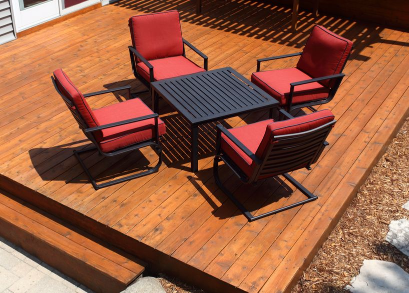 Diy Steps For Building A Deck Over A Patio Slab The Low Down On Low Decks Extreme How To