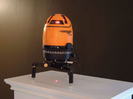 One alternative to hand levels is the Acculine Pro laser level from Johnson Level.
