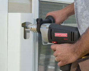 A 1/2-inch drill provides plenty of torque.