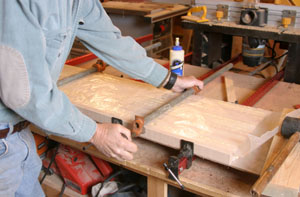 how to make butcher block counters