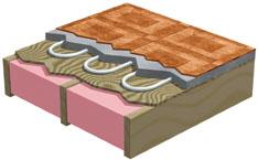 Inslab hydronic system