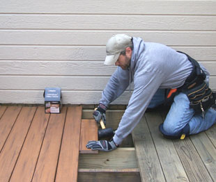 Replace An Old Deck With Composite Decking Extreme How To