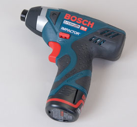 Bosch 10.8V PS240-2 offers 800 in/lbs of torque in a compact package.