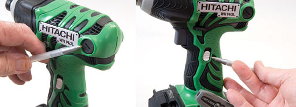 Hitachi's 14DL has easy-to-change brushes and a two-speed switch.