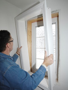 Adding A Pvc Jamb Extension For An Interior Window Trim