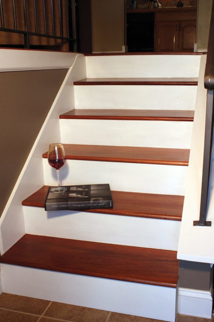 Remodel With Prefinished Stair Treads