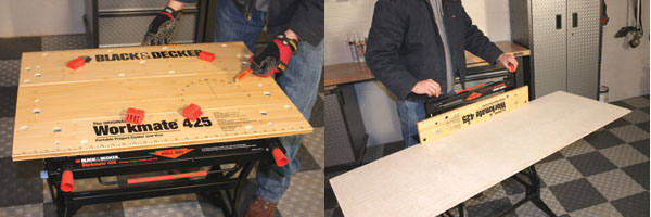 The 425 Portable Workstation Clamps