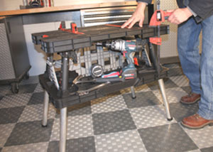 The Clamping Station