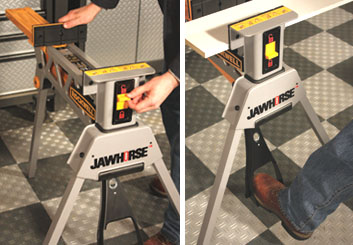 The Jawhorse; Clamping Station