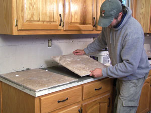 How To Lay Ceramic Tile On Kitchen Countertop