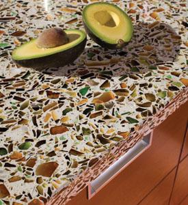 Vetrazzo, Inc offers colorful countertops