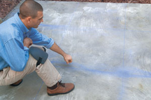 Before tiling a concrete slab How to Lay Tile over a Concrete Patio
