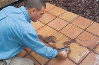 outdoor tile over concrete. How To Lay Tile Over A Concrete Patio Outdoor