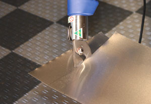 """The 16"""" Milwaukee Compact Bandsaw is ideal for cutting metal in tight spaces."""