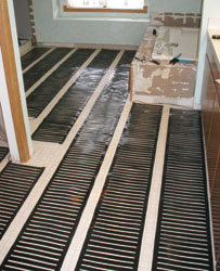 Hot products in underfloor heating extreme how to for Step warm floor