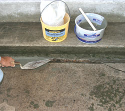 PatchingTT4 Patching & Repairing Concrete