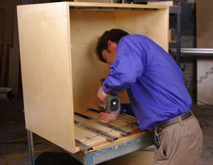 Max29 install slides LOW Build a Deluxe Tool Storage Cabinet