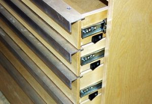 Max32 lock stops LOW Build a Deluxe Tool Storage Cabinet