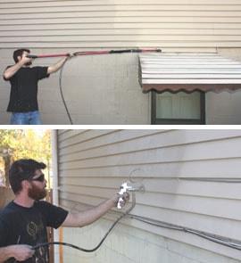 Prepping, Priming and Repainting Exterior Metal Siding