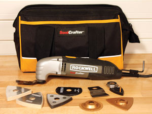 Multipurpose oscillating tools can be fitted with a variety of attachments to do everything from scrape and grind to flush-cut sand.