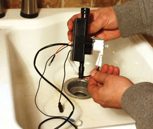 Diy Installing A Touch Activated Kitchen Faucet Extreme
