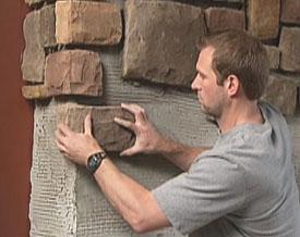 Installing Stone Veneer Extreme How To