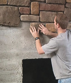 Installing Stone Veneer Extreme How To