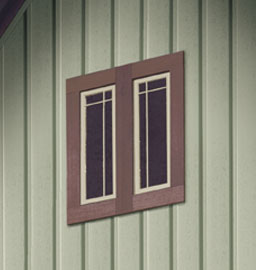 Vinyl siding is often used with other siding materials for a rich aesthetic design.