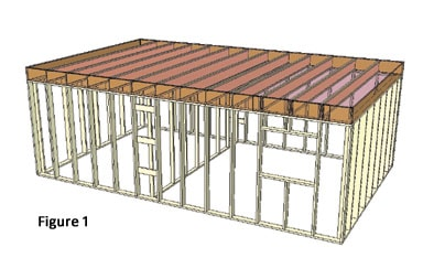 Frame a home for energy efficiency house framing for for House framing 101