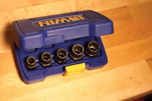 Irwin's Bolt Extractors can free those pesky stuck fasteners that slow down your work.
