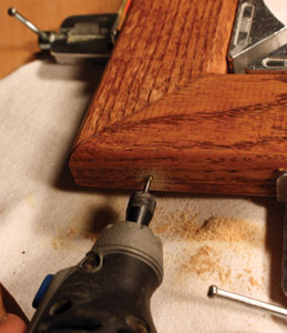 Predrill the nail holes to avoid splitting.