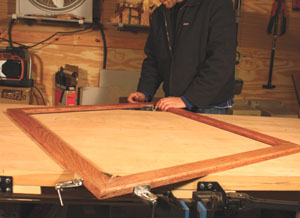 You'll need ample room to work, such as a large table or workbench.