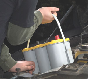 If the battery starts showing signs of fatigue, replace the battery.