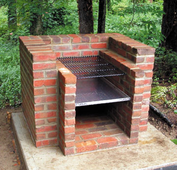 Build Outdoor Brick Grill - Houses Plans - Designs