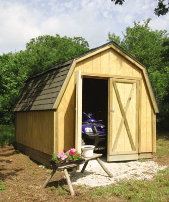 Building A Drive Thru Backyard Shed