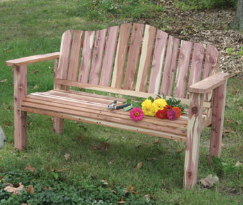 outdoor patio bench plans