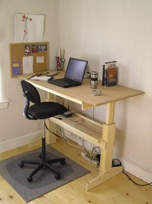build an office desk. build an office desk m