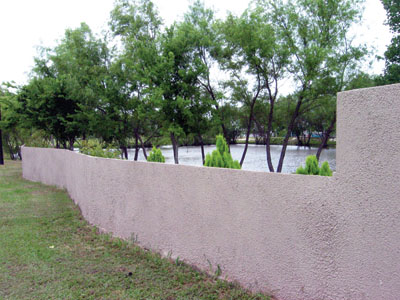 Spray In Place Concrete Fencing Extreme How To