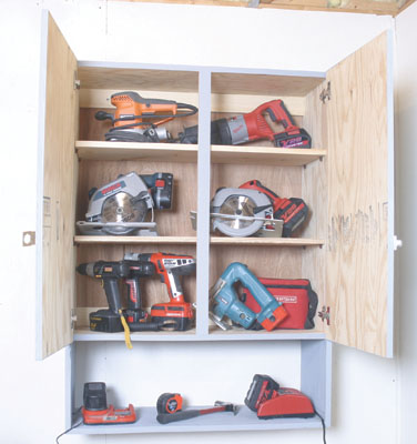 How To Build A Toolstorage Cabinet