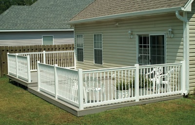 Installing A Pvc Handrail For Your Deck Extreme How To