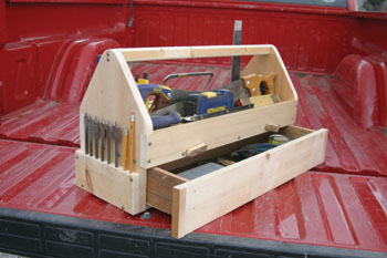 Small Wood Tool Box Plans